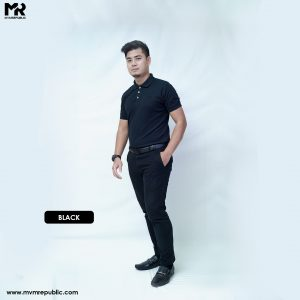 SOFT TOUCH POLO – BLACK