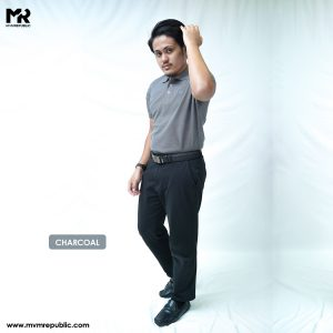 SOFT TOUCH POLO – CHARCOAL