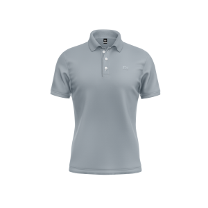 SOFT TOUCH POLO – ICE GREY