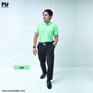 SOFT TOUCH POLO – LIME