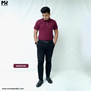 SOFT TOUCH POLO – MAROON