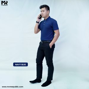 SOFT TOUCH POLO – NAVY BLUE