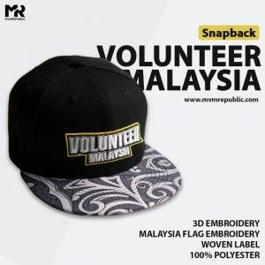JUALAN AMAL : SNAPBACK VOLUNTEER MALAYSIA